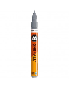 Marker acrilic Molotow ONE4ALL™127HS-CO, 1.5 mm, cool grey pastel