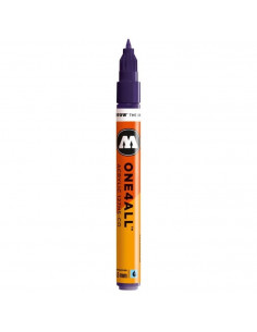 Marker acrilic Molotow ONE4ALL™127HS-CO, 1.5 mm, violet dark