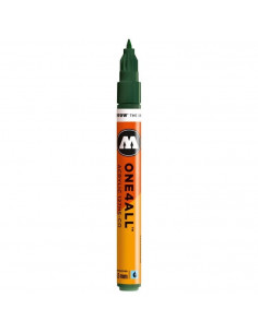 Marker acrilic Molotow ONE4ALL™127HS-CO, 1.5 mm, future green