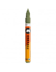 Marker acrilic Molotow ONE4ALL™127HS-CO, 1.5 mm, amazonas light