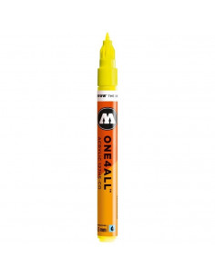 Marker acrilic Molotow ONE4ALL™127HS-CO, 1.5 mm, neon yellow