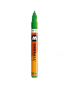 Marker acrilic Molotow ONE4ALL™127HS-CO, 1.5 mm, kacao77 universes green
