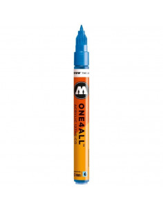 Marker acrilic Molotow ONE4ALL™127HS-CO, 1.5 mm, metallic blue