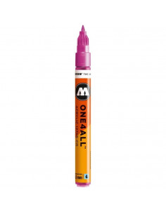 Marker acrilic Molotow ONE4ALL™127HS-CO, 1.5 mm, metallic pink