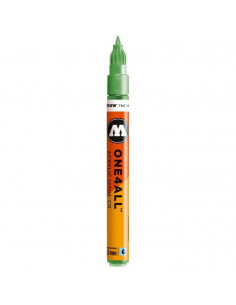 Marker acrilic Molotow ONE4ALL™127HS-CO, 1.5 mm, metallic light green