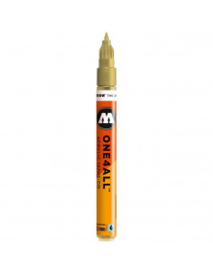 Marker acrilic Molotow ONE4ALL™127HS-CO, 1.5 mm, metallic gold
