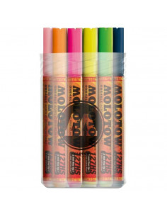 Marker acrilic Molotow ONE4ALL™ 127HS, 2 mm, Box Main-Kit 2, 20