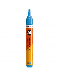 Marker acrilic Molotow ONE4ALL™ 227HS, 4 mm, shock blue middle