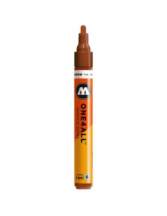 Marker acrilic Molotow ONE4ALL™ 227HS, 4 mm, hazelnut brown