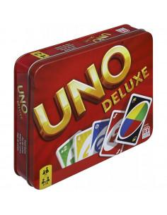 Carti de joc Mattel Games Uno Deluxe