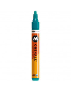 Marker acrilic Molotow ONE4ALL™ 227HS, 4 mm, lagoon blue