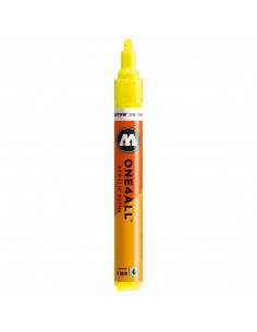 Marker acrilic Molotow ONE4ALL™ 227HS, 4 mm, neon yellow fluorescent