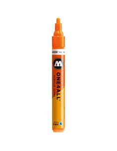 Marker acrilic Molotow ONE4ALL™ 227HS, 4 mm, neon orange fluorescent