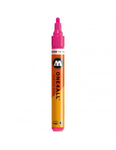 Marker acrilic Molotow ONE4ALL™ 227HS, 4 mm, neon pink fluorescent