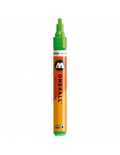 Marker acrilic Molotow ONE4ALL™ 227HS, 4 mm, neon green