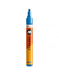 Marker acrilic Molotow ONE4ALL™ 227HS, 4 mm, metallic blue