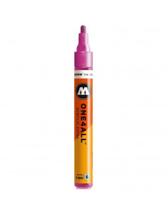 Marker acrilic Molotow ONE4ALL™ 227HS, 4 mm, metallic pink