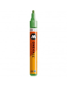 Marker acrilic Molotow ONE4ALL™ 227HS, 4 mm, metallic light green