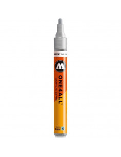 Marker acrilic Molotow ONE4ALL™ 227HS, 4 mm, metallic silver