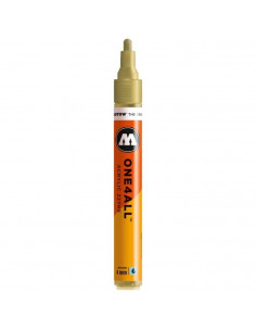Marker acrilic Molotow ONE4ALL™ 227HS, 4 mm, metallic gold