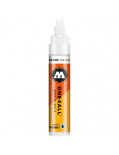 Marker acrilic Molotow ONE4ALL™ 327HS,4-8 mm, signal white
