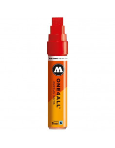 Marker Acrilic Molotow One4All™ 627Hs, 15 Mm, Traffic Red