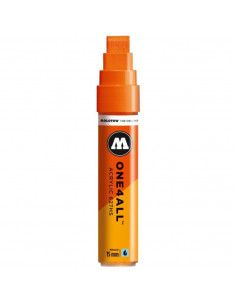 Marker Acrilic Molotow One4All™ 627Hs, 15 Mm, Dare Orange