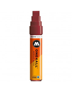 Marker Acrilic Molotow One4All™ 627Hs, 15 Mm, Burgundy
