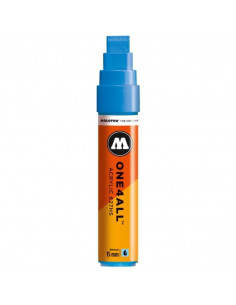 Marker Acrilic Molotow One4All™ 627Hs, 15 Mm, Shock Blue Middle
