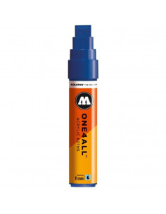 Marker Acrilic Molotow One4All™ 627Hs, 15 Mm, True Blue