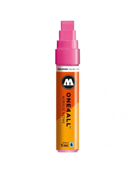 Marker Acrilic Molotow One4All™ 627Hs, 15 Mm, Neon Pink