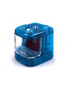Ascutitoare Electrica Daco Dubla cu baterii, Bleu