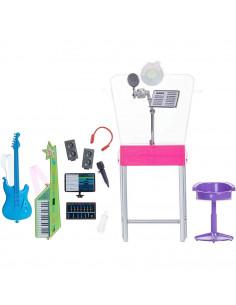 Set Barbie by Mattel I can be Studio muzical GJL67 cu accesorii
