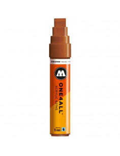 Marker Acrilic Molotow One4All™ 627Hs, 15 Mm, Hazelnut Brown