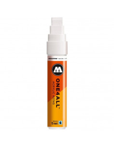 Marker Acrilic Molotow One4All™ 627Hs, 15 Mm, Signal White