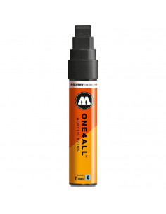 Marker Acrilic Molotow One4All™ 627Hs, 15 Mm, Signal Black