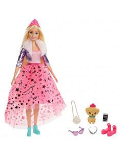 Papusa Barbie by Mattel Modern Princess Theme cu accesorii