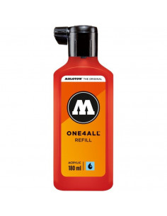 Rezervă Molotow One4All™, 180 Ml, Traffic Red
