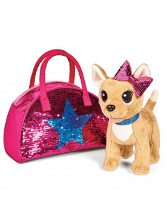 Jucarie de plus Simba Catel Chi Chi Love Swap fashion 20 cm cu