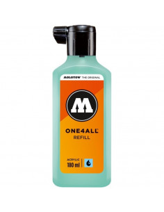Rezervă Molotow One4All™, 180 Ml, Lago Blue Pastel
