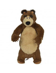 Jucarie de plus Simba Masha and the Bear, Bear in picioare 25 cm