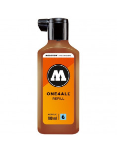 Rezervă Molotow One4All™, 180 Ml, Hazelnut Brown