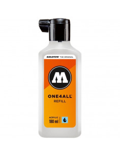 Rezervă Molotow One4All™, 180 Ml, Signal White