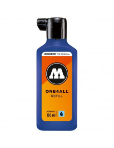 Rezervă Molotow One4All™, 180 Ml, True Blue