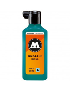 Rezervă Molotow One4All™, 180 Ml, Lagoon Blue