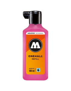 Rezervă Molotow One4All™, 180 Ml, Neon Pink Fluorescent