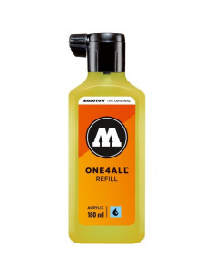 Rezervă Molotow One4All™, 180 Ml, Neon Yellow Fluorescent
