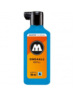 Rezervă Molotow One4All™, 180 Ml, Shock Blue