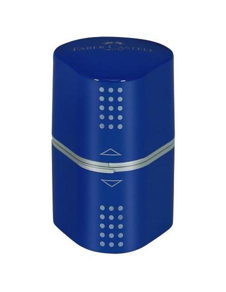 Ascutitoare Faber-Castell Tripla Grip 2001, Albastru