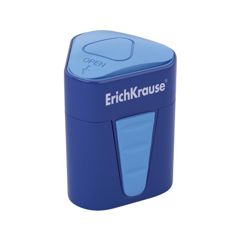 Ascuțitoare din plastic cu rezervor Erich Krause 3-Touch